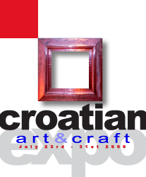 CROATIAN art & craft EXPO logo